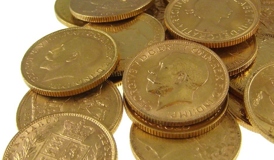 Gold Sovereigns weigh 7.98g