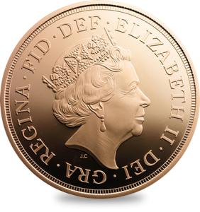 The fifth portrait of Queen Elizabeth II for UK coins