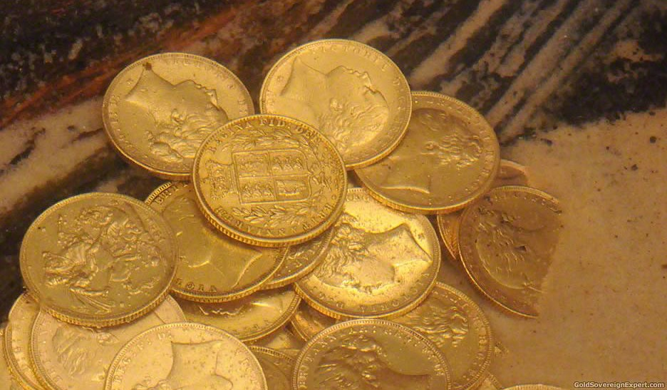 RMS Douro Gold Sovereigns