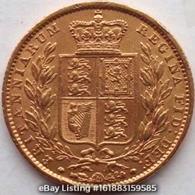 1849 Sovereign