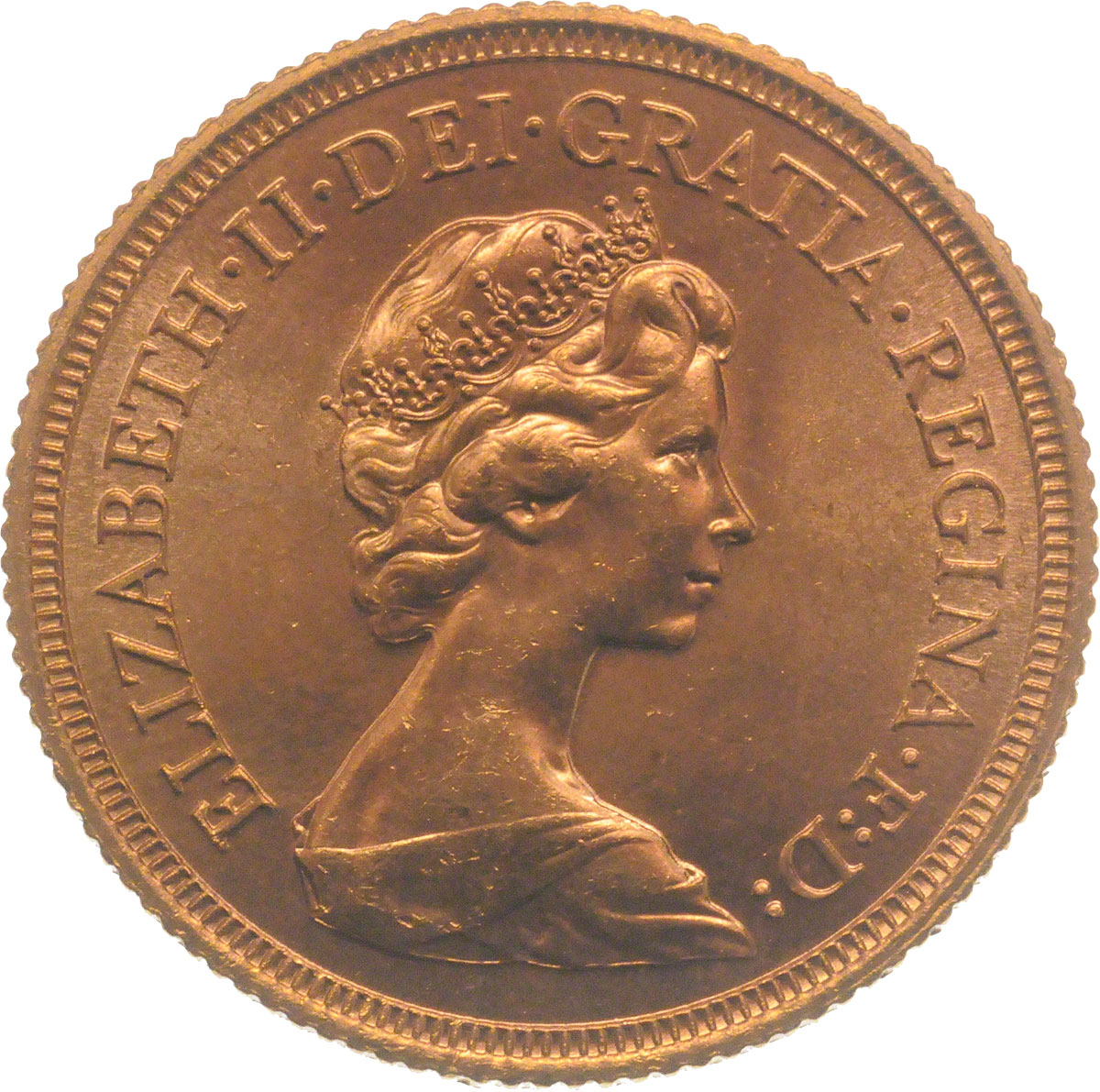 1976 Gold Sovereign
