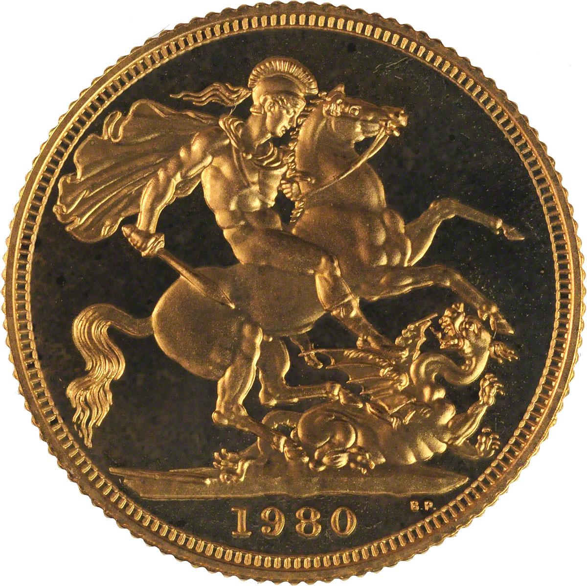 1980 Gold Sovereign