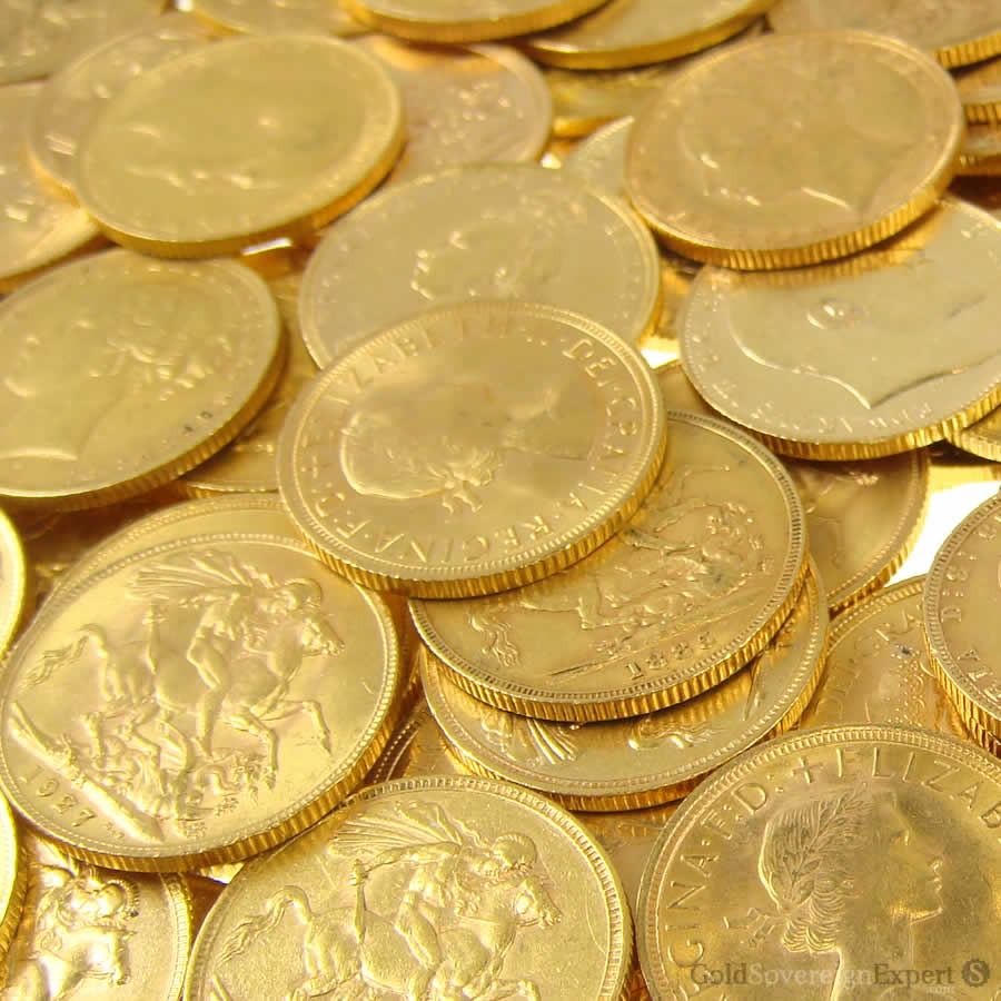 Sell Gold Sovereign Coins