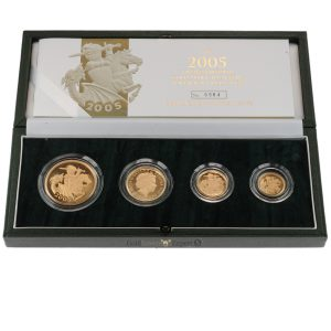 2005 4 Coin Proof Sovereign Collection