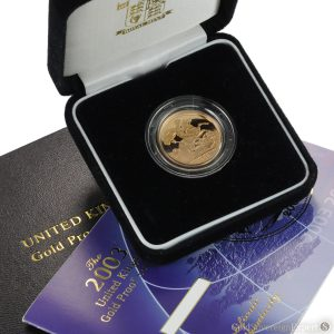 2003 Proof Gold Sovereign