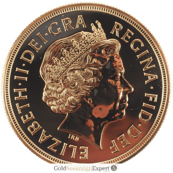 2007 UK BU £5 Crown Obverse