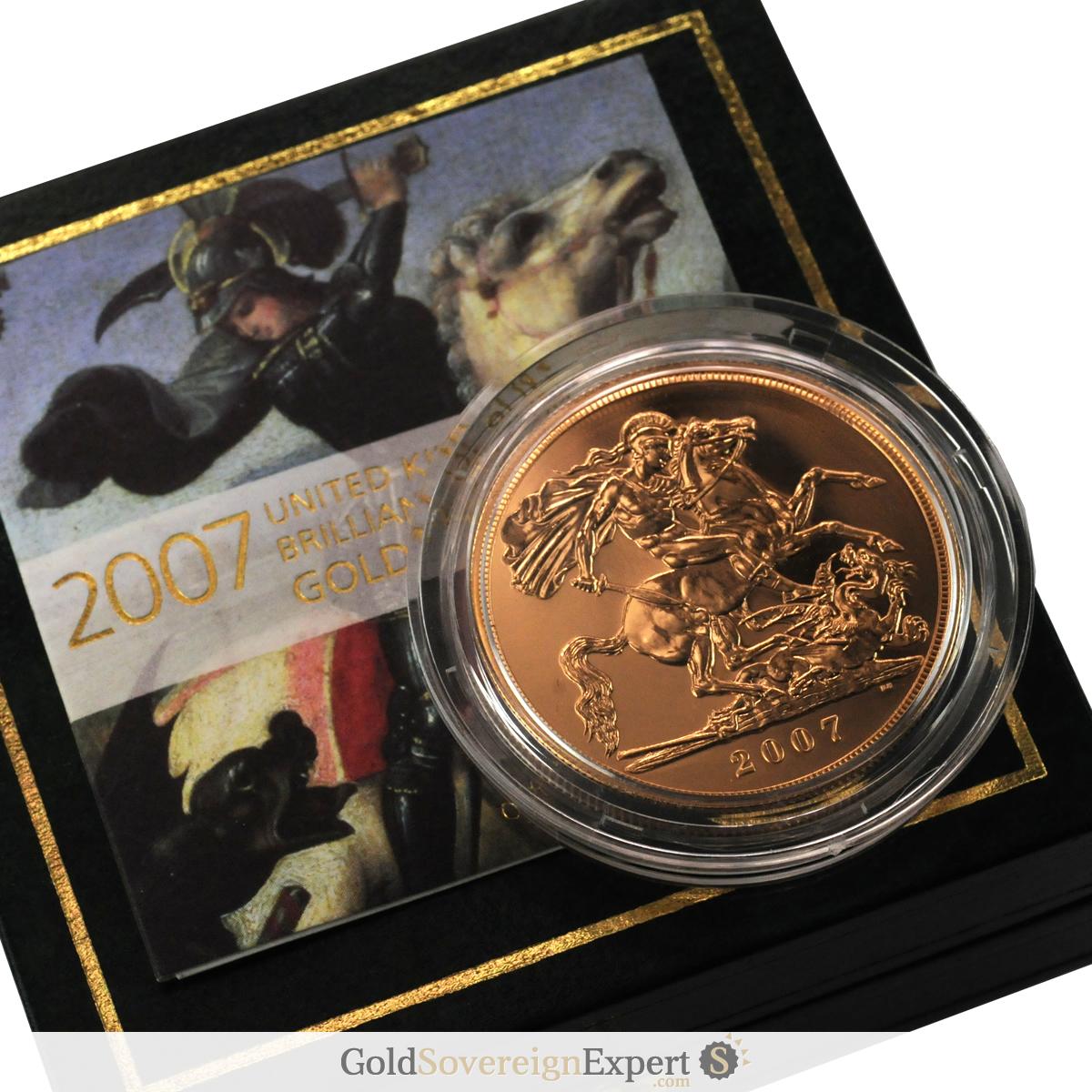 2007 UK Brilliant Uncirculated £5 Crown