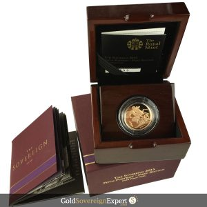 2015 Gold Proof Sovereign