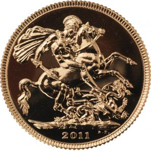 2011 Gold Sovereign