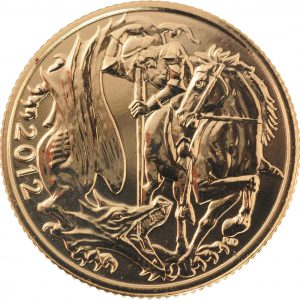 2012 Full Gold Sovereign