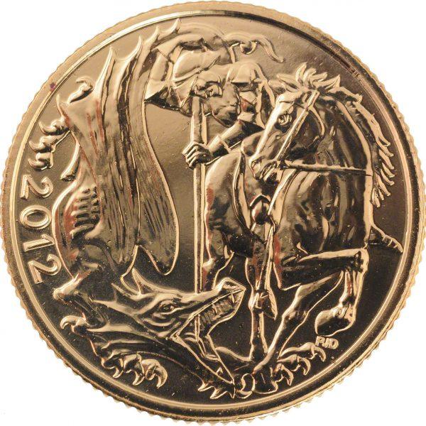 2012 Full Gold Sovereign