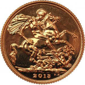 2013 Gold Sovereign