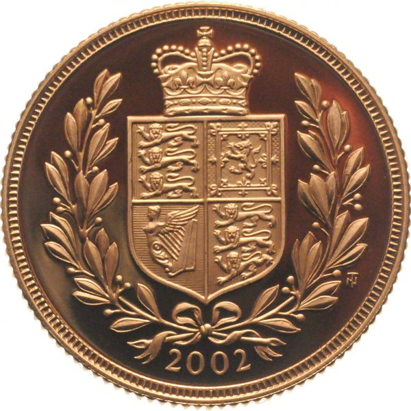 2002 Proof Gold Sovereign