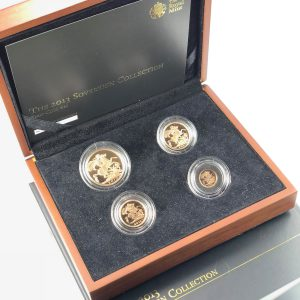 2013 4 Coin Sovereign Set