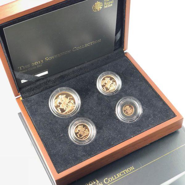 2013 4 Coin Sovereign Set