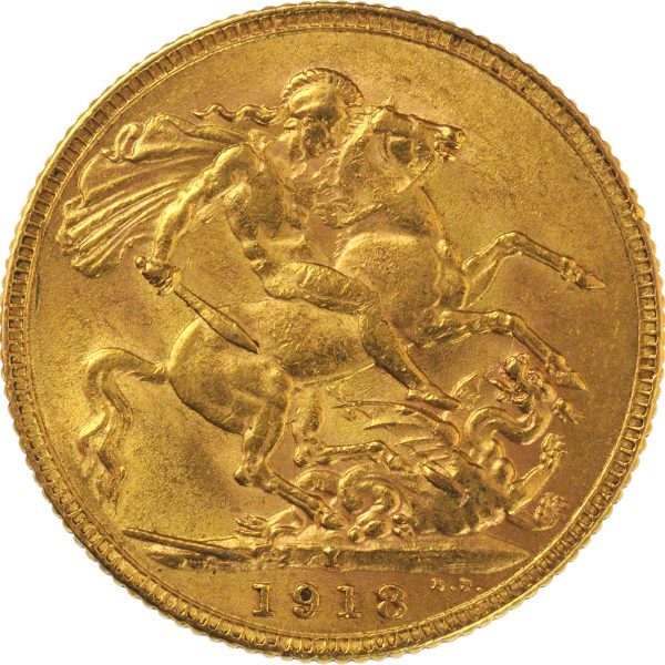 1918 I George V Sovereign