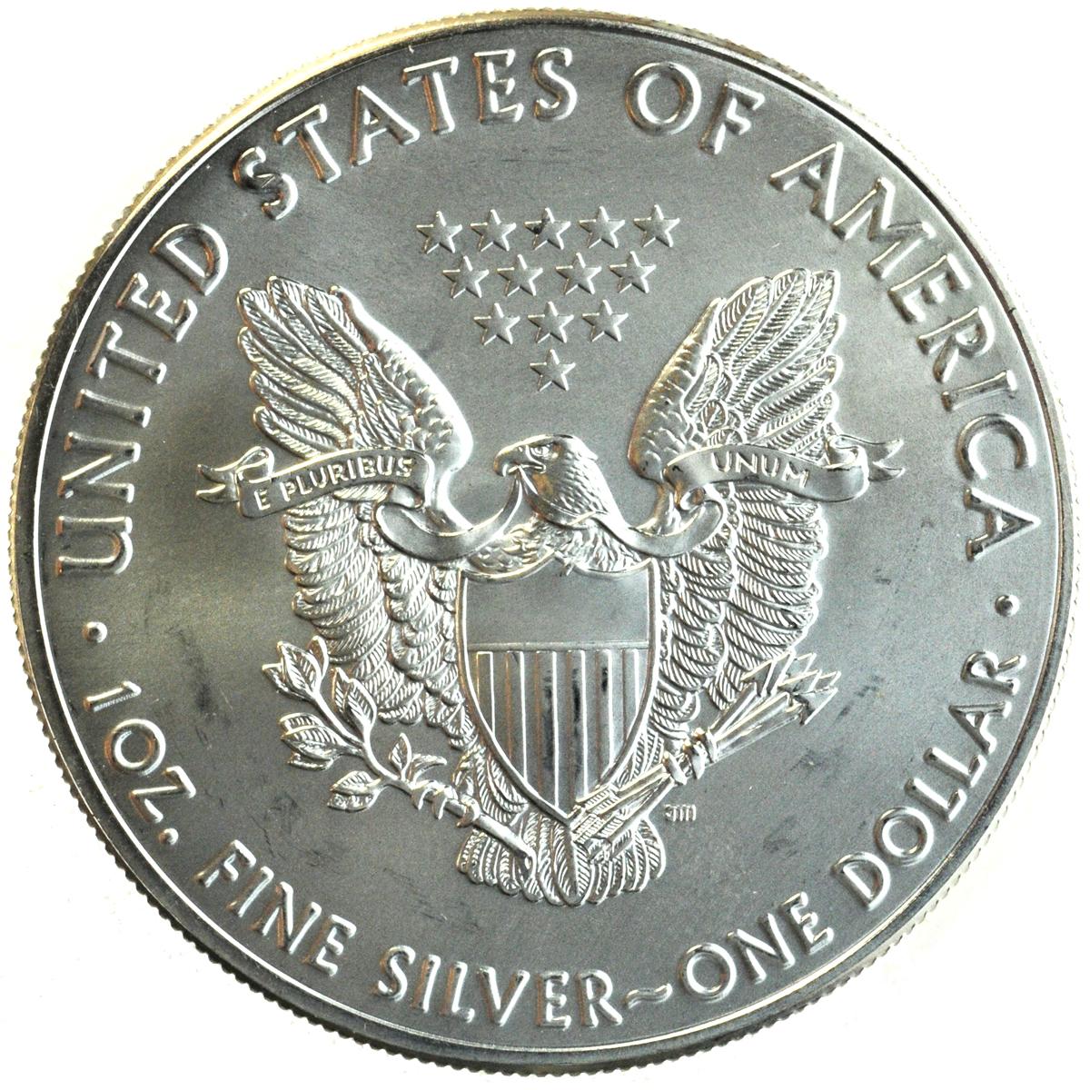 1 Troy Ounce Silver Bullion Coin